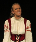 ANGELINE ANDREWS as Louka in ARMS AND THE MAN