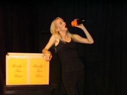 ANGELINE ANDREWS as Tara in BEHIND THE SCENES