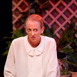 ANGELINE ANDREWS as Miss Prism in THE IMPORTANCE OF BEING EARNEST