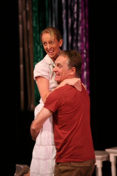 ANGELINE ANDREWS (as Kay) and Neil Modra in SEX, DEATH & CHOCOLATE